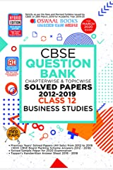 Oswaal CBSE Question Bank Class 12 Business Studies Chapterwise & Topicwise (For March 2020 Exam) Kindle Edition