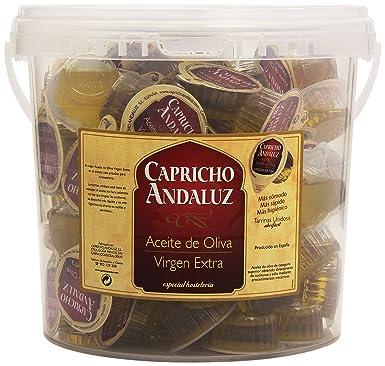 Capricho Andaluz - Aceite de oliva - Virgen Extra - 100 unidades ...