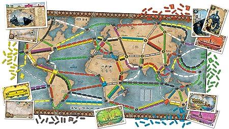 Days of Wonder Ticket to Ride Europe. Juego de Mesa de Estrategia ...