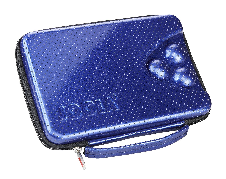 Joola, Custodia rettangolare per racchette da ping pong, Blu (Blau), 80551