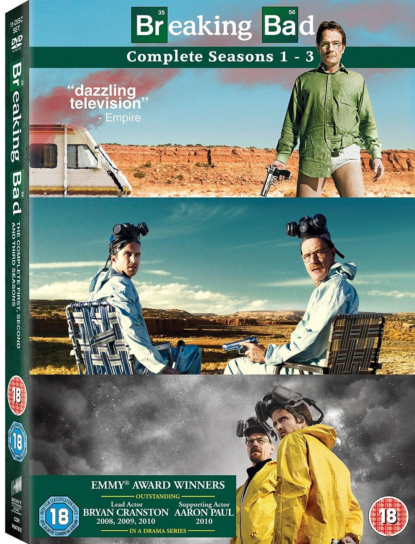 Breaking Bad - Season 1-3 [DVD]: Amazon.co.uk: Bryan Cranston, Anna ...