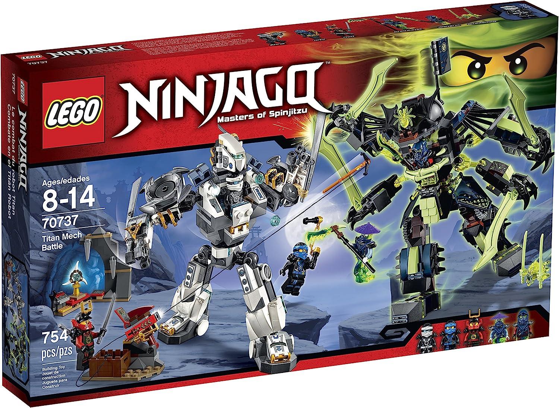 LEGO Ninjago 70737 Titan Mech Battle Building Kit