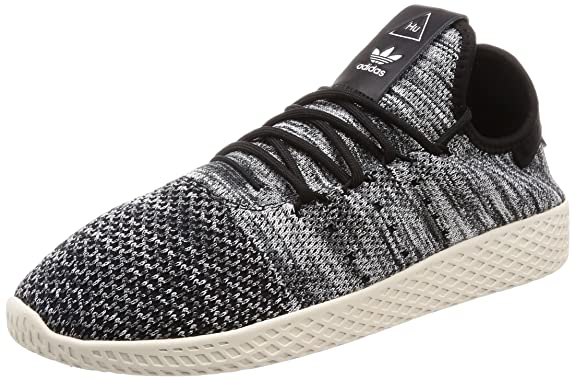 adidas Originals Herren Sneaker Pharell Williams Tennis Hu Primeknit Weiss (10) 42