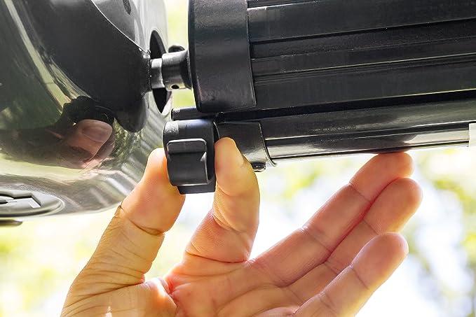 Camco 42708 Markisen Clip Für Lichtschlauch Schwarz Standard Auto