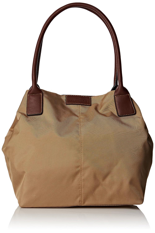 Bolso de asas de nailon para mujer beige 10721 20 Tom Tailor Acc MIRI Shopper