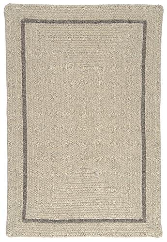 Shear Natural Rug, 5 x 8 , Cobblestone