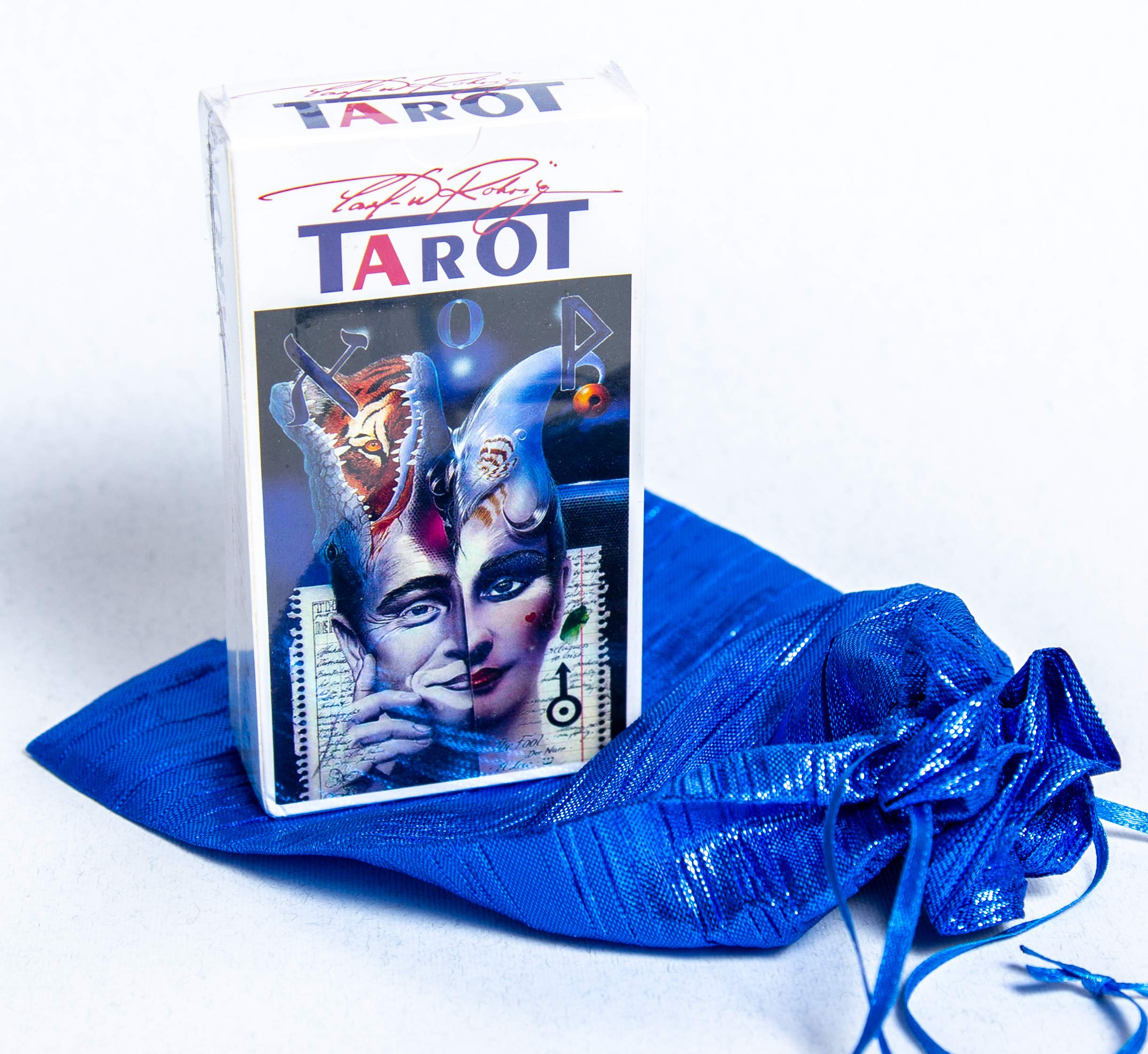 New 78 The Rohrig Tarot Tarot Cards Deck (Replica) Valentines Gift by Unknown (Image #1)