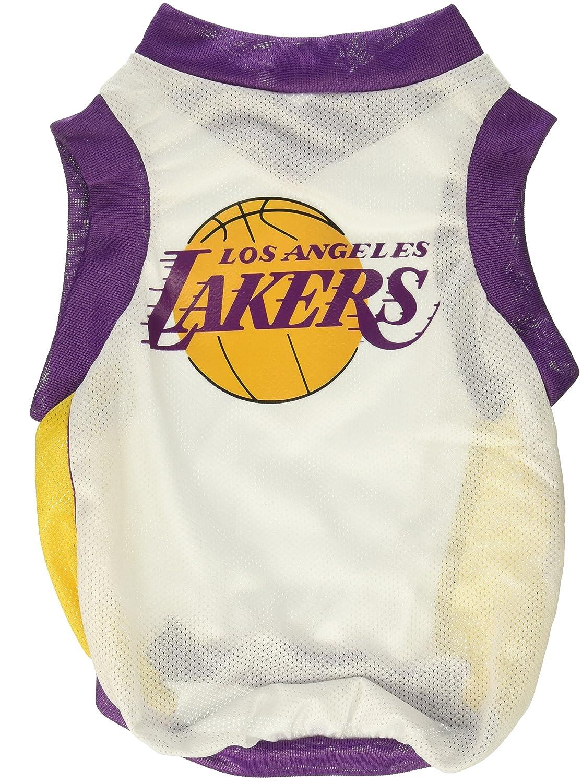 Amazon.com : NBA Los Angeles Lakers Basketball Dog Jersey, X-Small : Pet Dresses : Pet Supplies