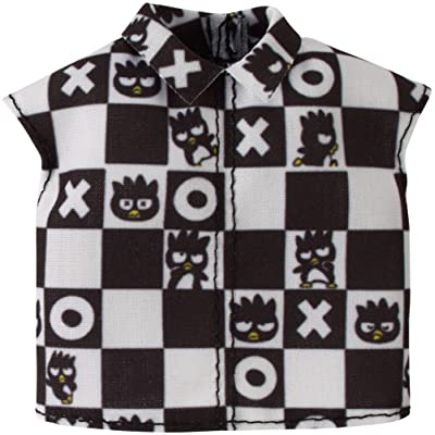 Barbie Hello Kitty Bad Batz-Maru Checkered Top Fashion: Toys & Games