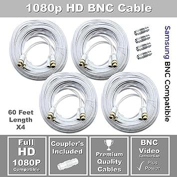 STS-FHDC150-150ft Premium 1080p HD BNC Video Cable