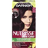 Garnier Nutrisse Haircolor, R1 Dark Intense Auburn Nourishing Color Creme Permanent