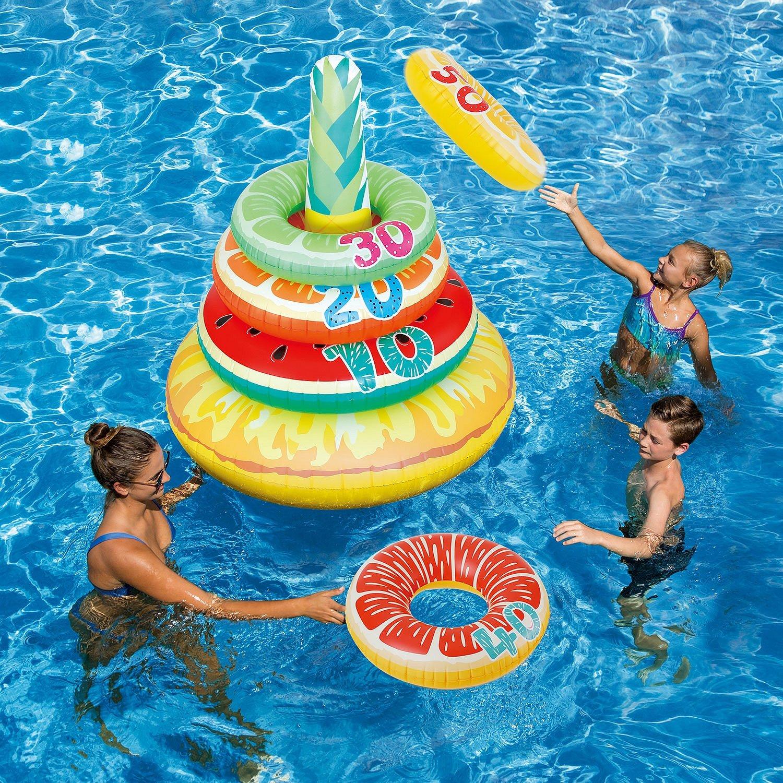 PolyGroup Splash Zone Jumbo Fruit Ring Toss