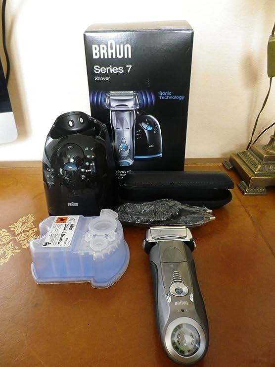 Braun Series 7 790cc-4 - Afeitadora eléctrica, con estación Clean & Charge: Amazon.es: Salud y cuidado personal