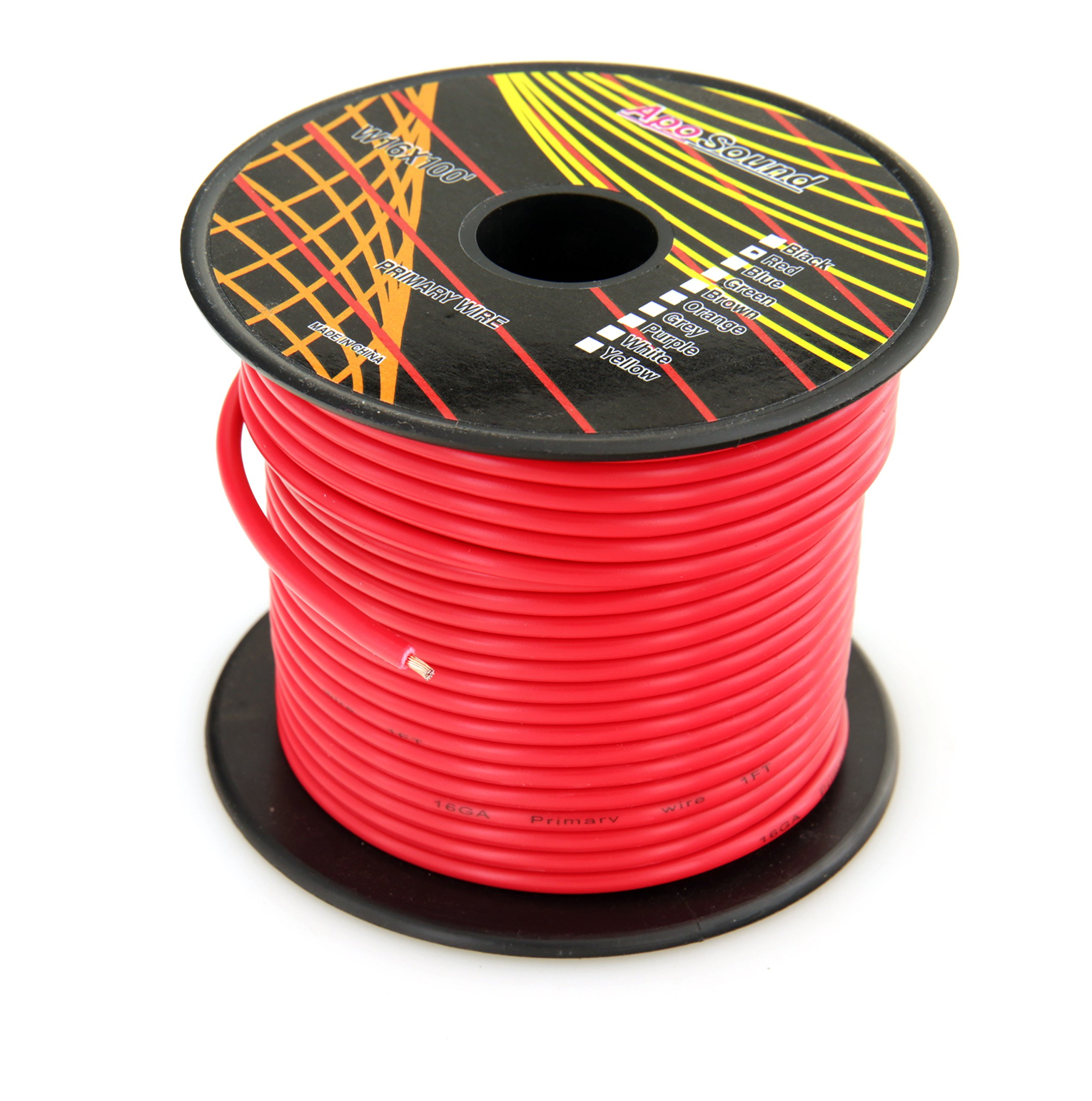 Gs Power Primary Wire Electrical Wiring Red Black Green