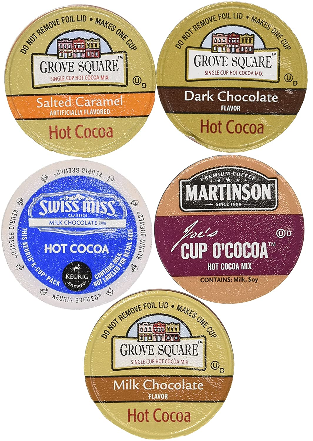 20-count Variety Hot Chocolate Cocoa Sampler for Keurig® K-cup ...