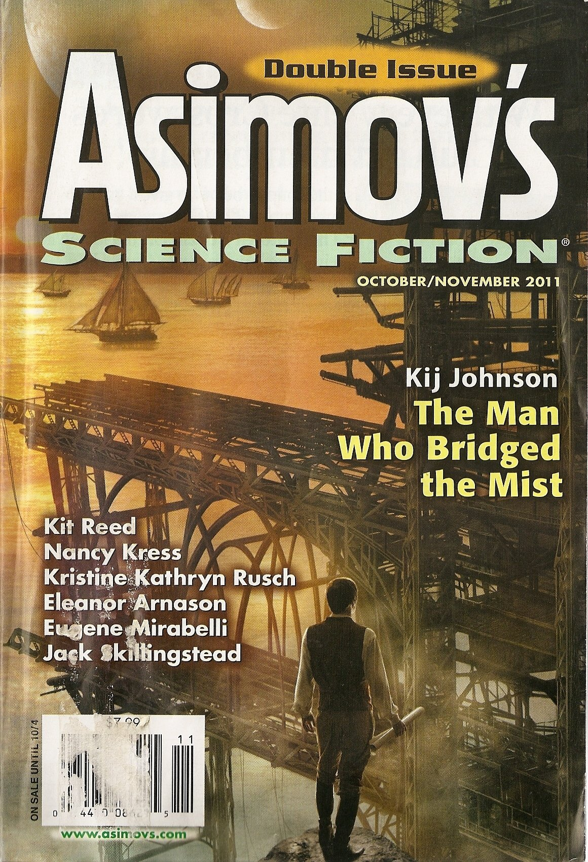 Asimovs Science Fiction October November Special