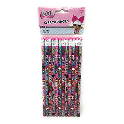 LOL 12 Pack Pencils, No Color, Size No Size: Office Products