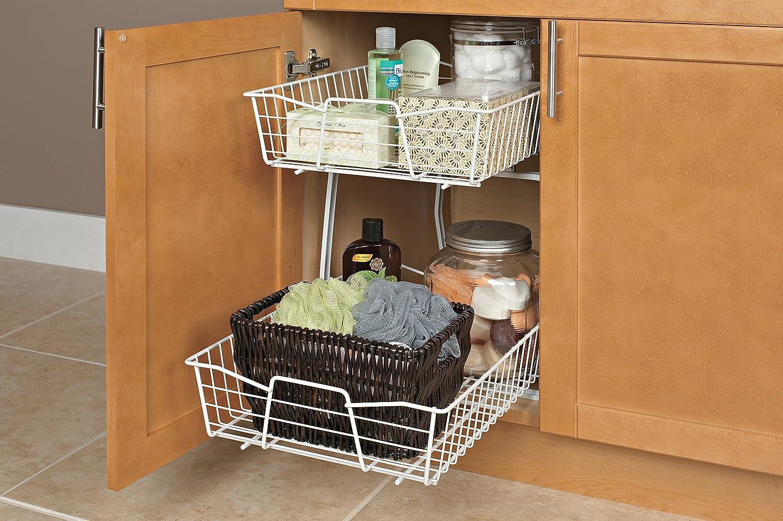 Amazon.com: ClosetMaid 3609 2 Tier 14-Inch Kitchen Cabinet ...