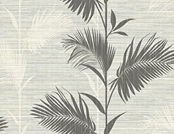 Kenneth James Ps40300 Away On Holiday Palm Wallpaper Black
