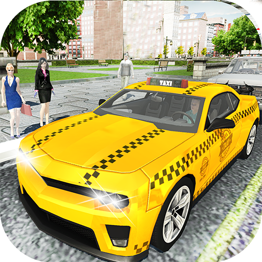 Amazing Taxi City Cab Driver Pickup Driving Sim