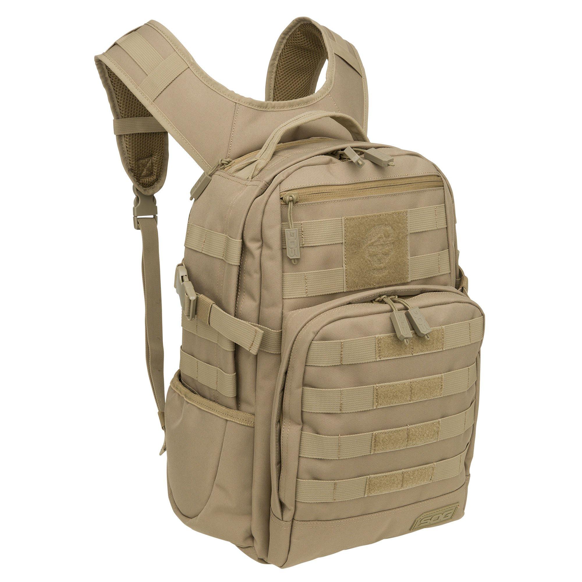 SOG Ninja Tactical Day Pack, 24.2-Liter, Coyote