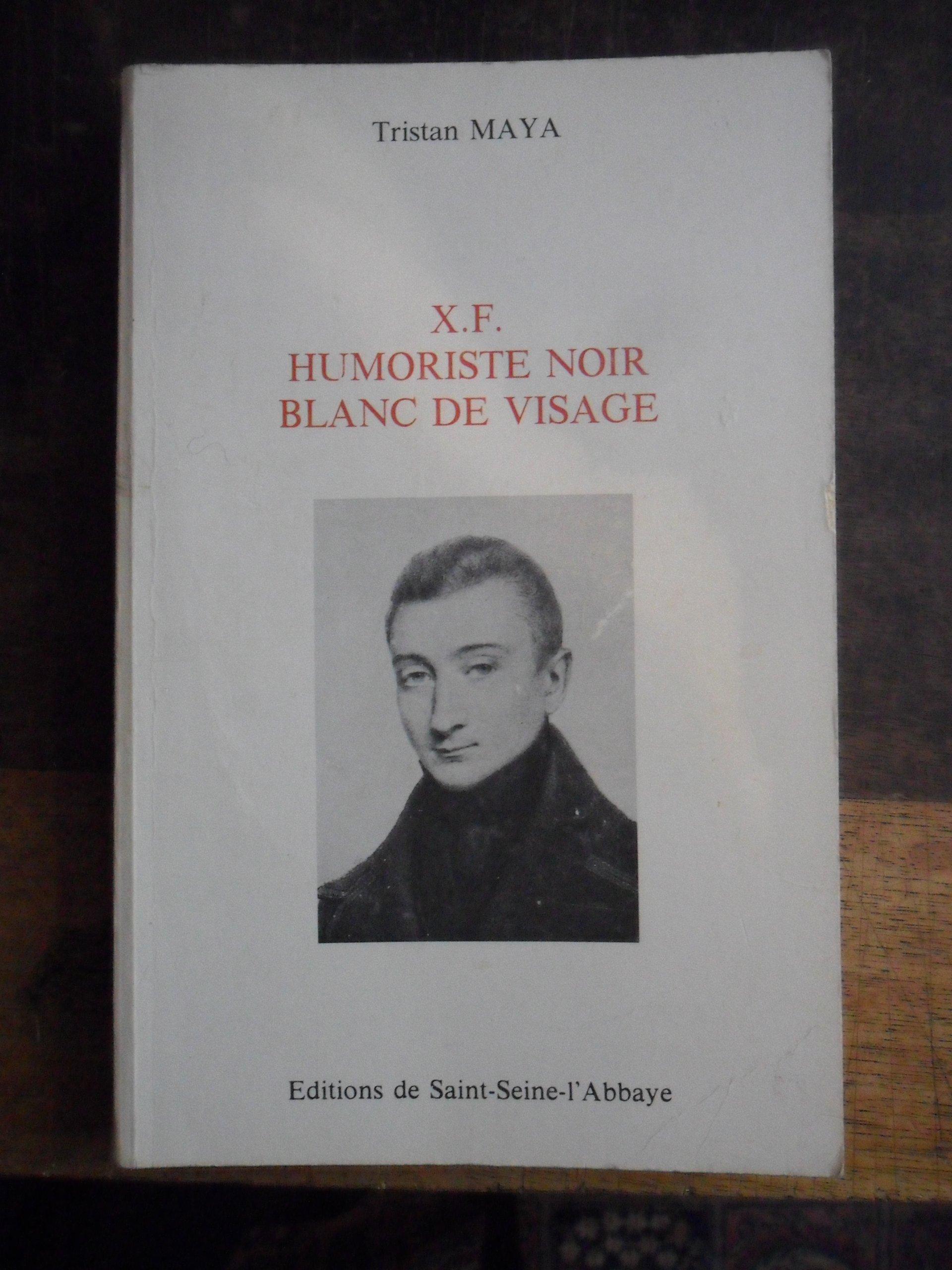 Xf Humoriste Noir Blanc De Visage French Edition