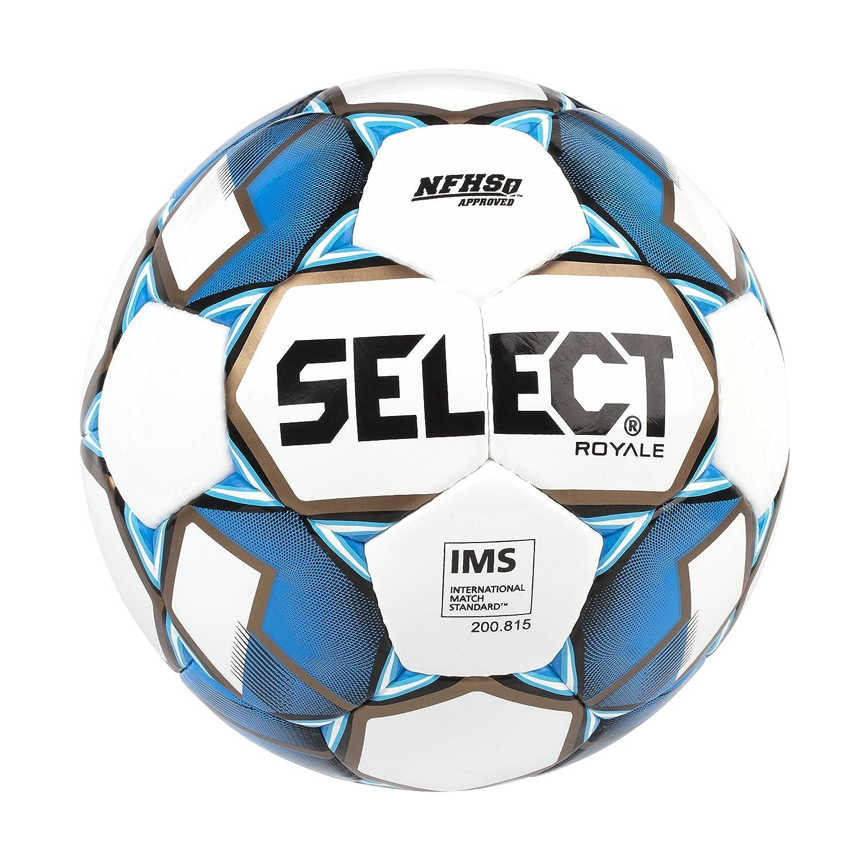 SELECT Royale - Balón de fútbol - 0124566903, 4, Blanco/Azul ...