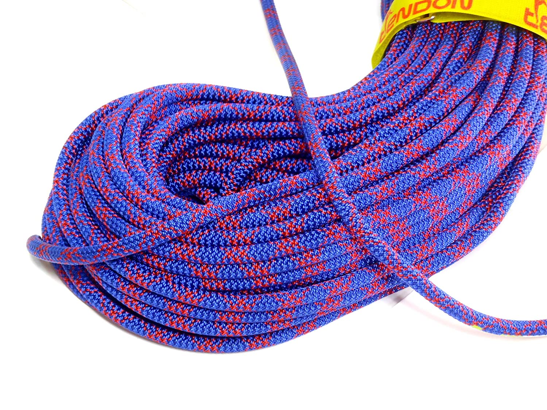 テンドン クライミングロープ アンビション ダブル 8.5mm 60m ブルー コンプリートシールド加工   B00MINSU90