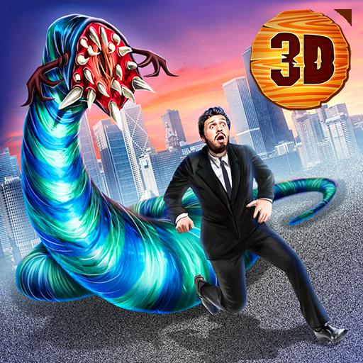 Giant Worm of Death: Insect Killer Destruction Simulator | City Attack Epic Battle Domination Risk ()