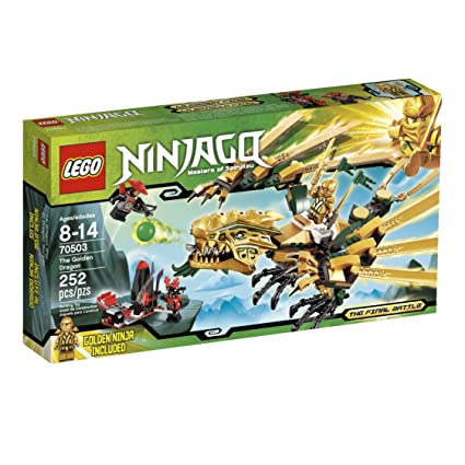 Amazoncom Lego Ninjago The Golden Dragon 70503 Discontinued By