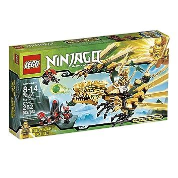 Amazon.com: LEGO Ninjago The Golden Dragon 70503 (Discontinued by ...