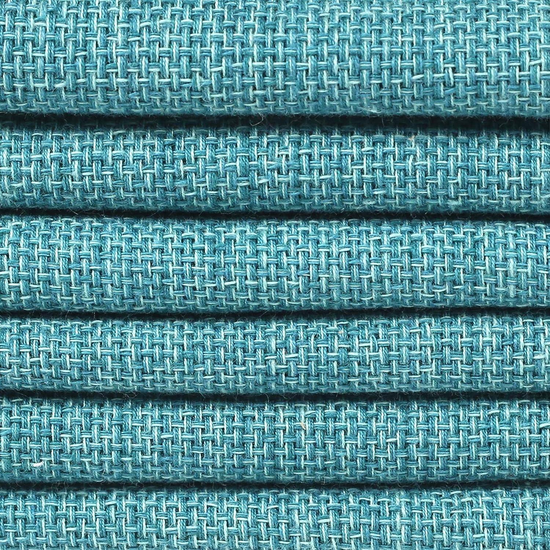 Clinique du coton Lot de 12 Serviettes de Table Coton Surdimensionn/ées 50 x 50 cm Serviettes de Table Mariage Serviettes de Table tissu Beige