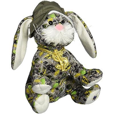 "Webkinz Rockerz Bunny 8.5"" Plush: Toys & Games"
