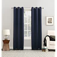 Sun Zero Easton Blackout - Panel de cortina opaco, consumo de energía eficiente