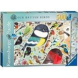 Ravensburger Matt Sewell's Our British Birds 500pc Jigsaw Puzzle