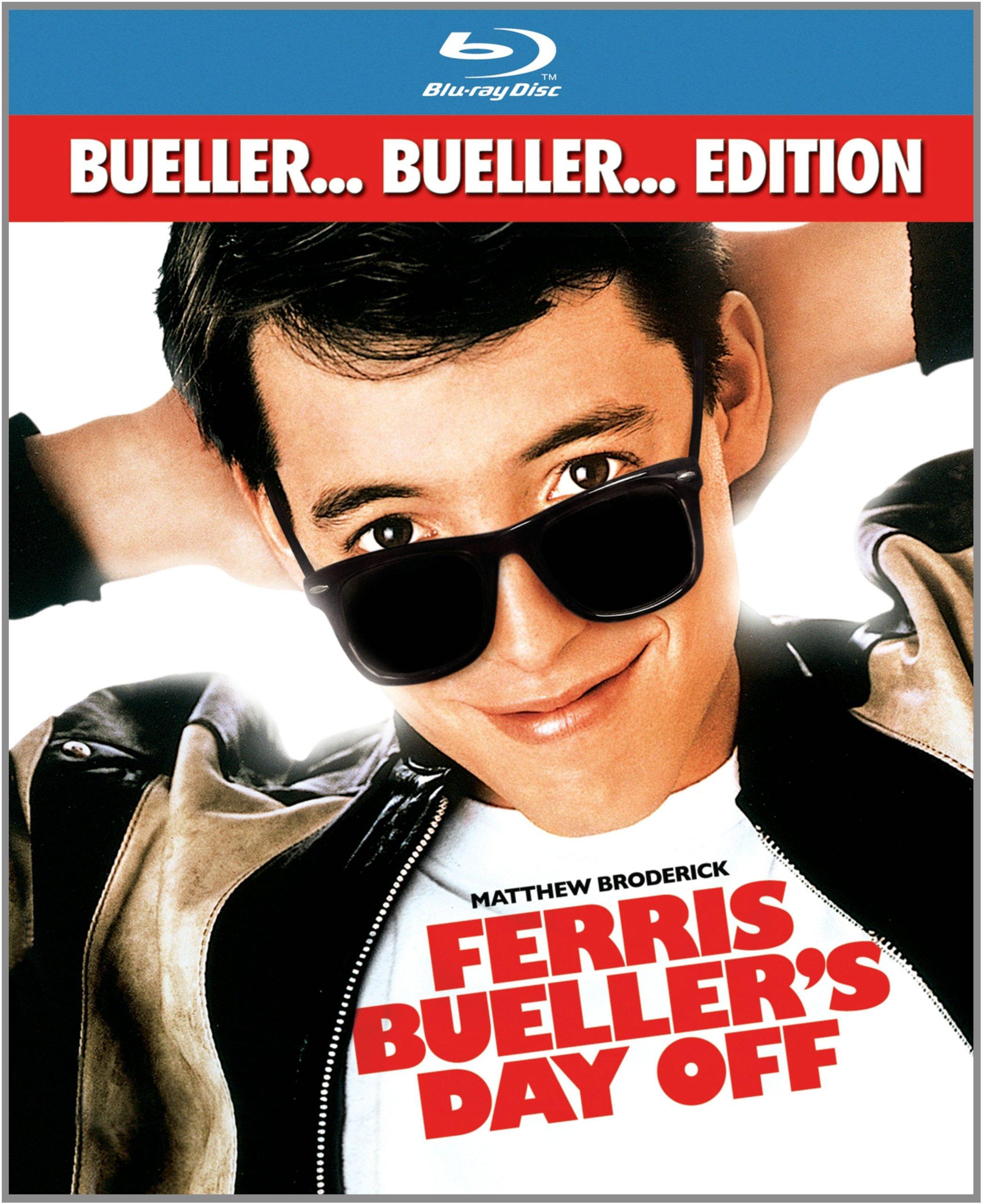 Blu-ray : Ferris Bueller's Day Off (Dubbed, Subtitled, Dolby, AC-3, True-Hd)