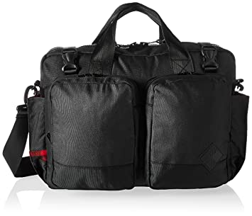c585cb60e33 Amazon.com | Woolrich Woolrich X The Hill-side Briefcase Bag, BLACK |  Briefcases
