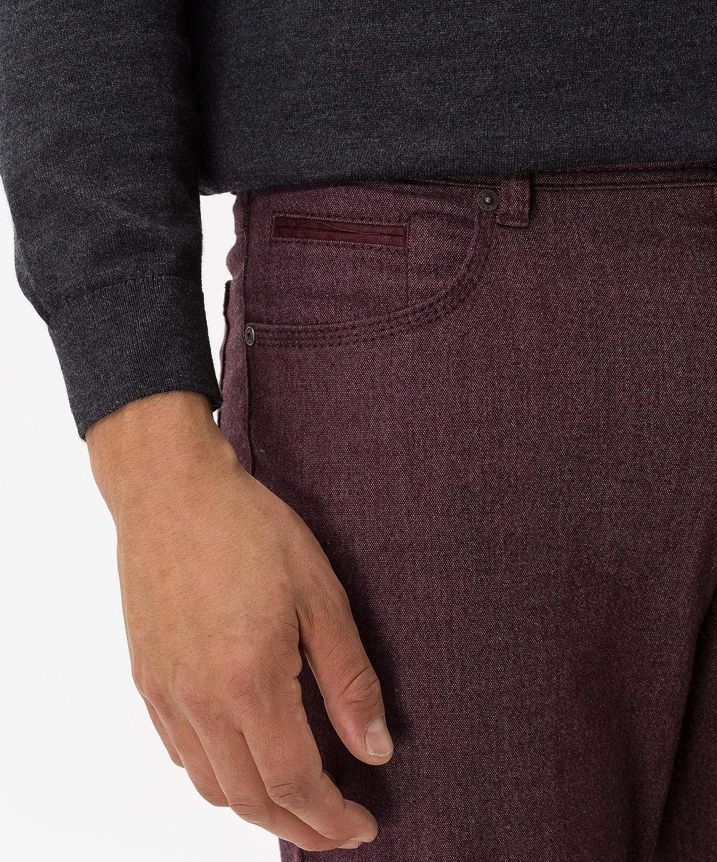 BRAX Men's Trousers Red (Aubergine 44)