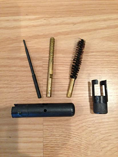 Norinco Original Chinese SKS Compact Butt Stock Cleaning Kit (Cosmoline  Removed Prior to Shipment)