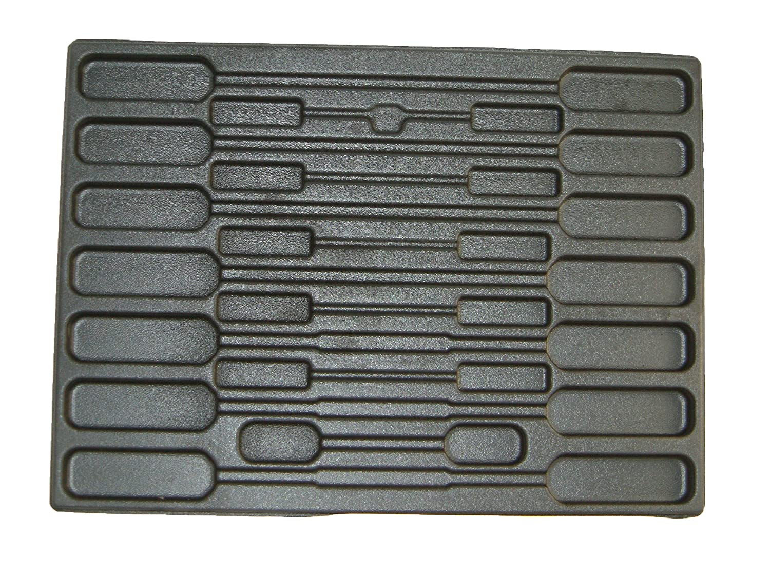 Protoco 3017 Screwdriver Tray Holds 26 Screwdrivers, 16-Inch x 22-Inch x 1/4-Inch
