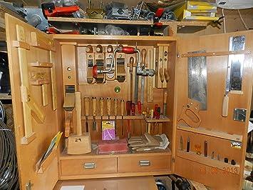 Schreiner Schrank ulmia set 310 werkzeug für tischler und ebanistas flachen sohle