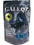 バイオ精密BB弾 【GALLOP】【0.28g 2000shots 5.95±0.01mm WHITE】