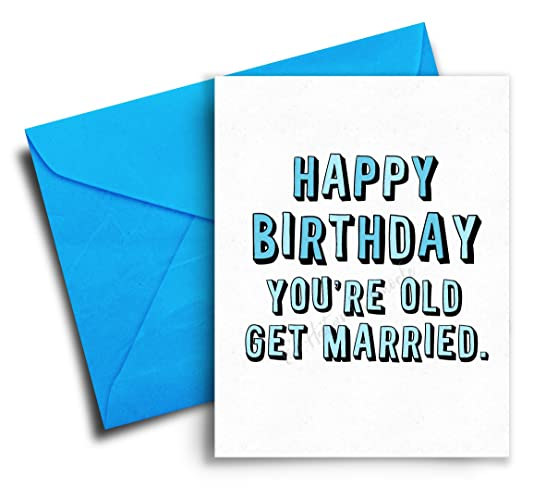 Amazon Happy Birthday Card Youre Old Funny Birthday Card