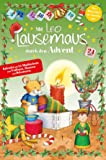 Mit Leo Lausemaus durch den Advent: Kalender mit 24 Minibüchern zum Vorlesen, Staunen und Dekorieren!