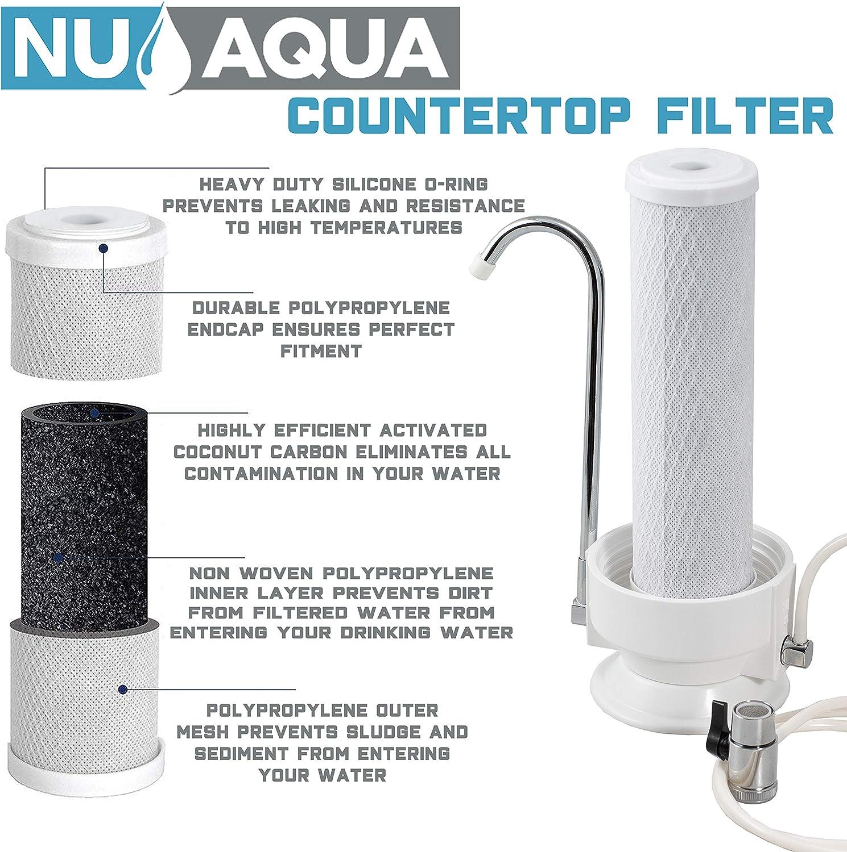 NU Aqua Premium Countertop Water Filter filter in details