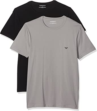 TALLA XL. Emporio Armani Camiseta Interior (Pack de 2) para Hombre