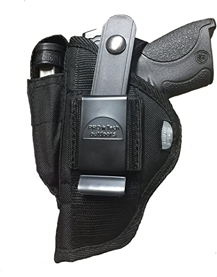 Nylon Pistol Hip Gun Holster with Extra Mag Pouch For Browning 25 Cal