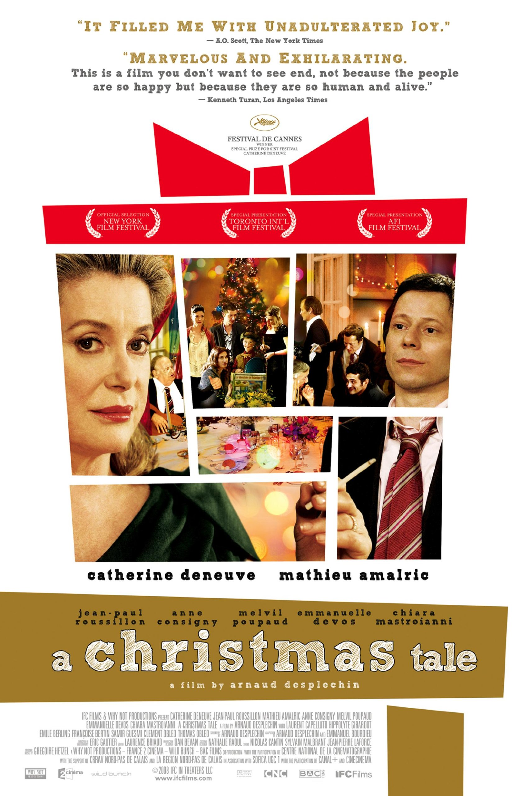 Amazon.com: A Christmas Tale (English Subtitled): Catherine Deneuve ...