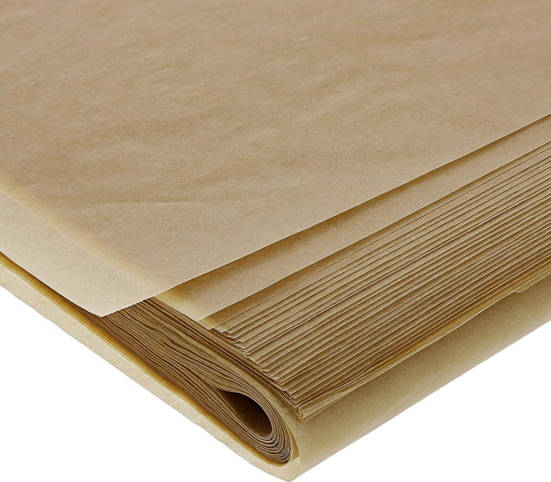 Juvale Parchment Paper 100 Pack - Full Size Precut Unbleached Parchment sheets - 16 x 24 Inches