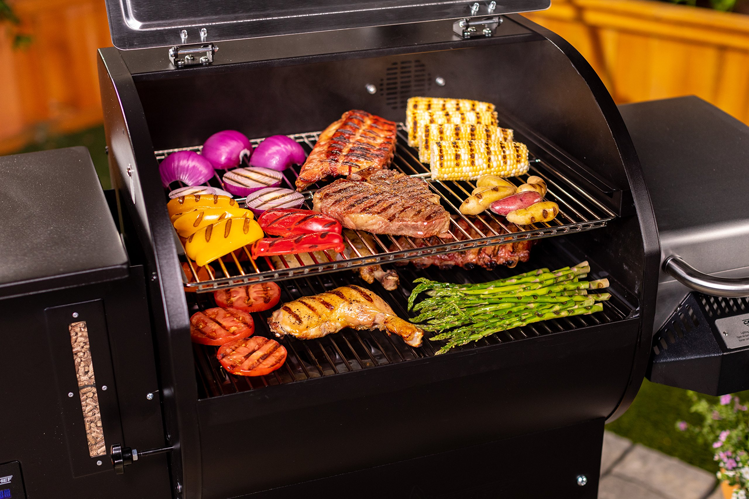 Camp Chef Woodwind Pellet Grill with Sear Box - Smart Smoke Technology - Ash Cleanout System (Woodwind SG) by Camp Chef (Image #5)